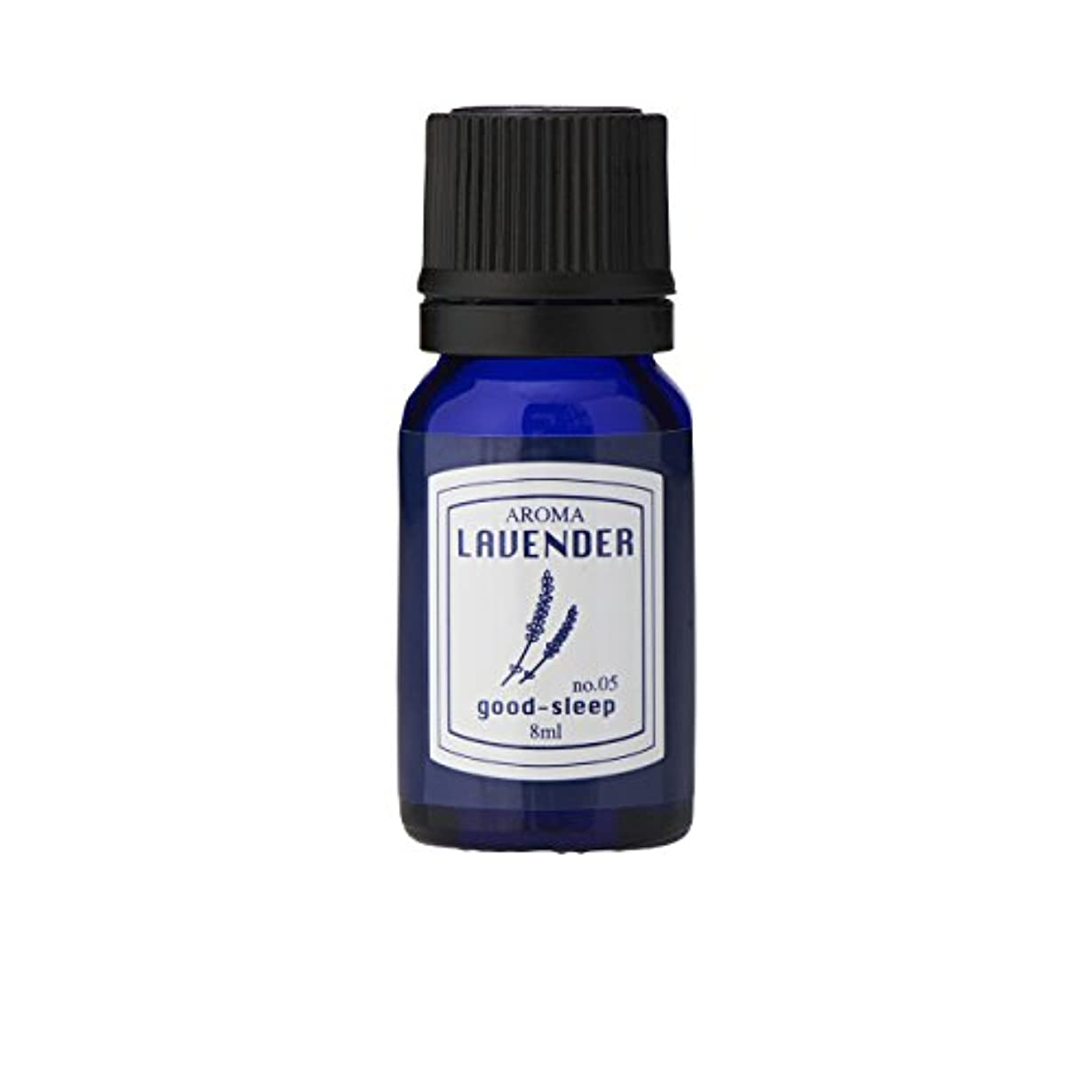 窒息させる意図的もちろんブルーラベル アロマエッセンス8ml ラベンダー(アロマオイル 調合香料 芳香用 心落ち着ける清々しい香り)