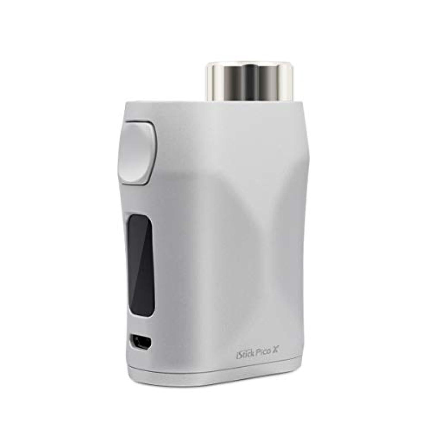 強調記念品に負ける電子タバコ/爆煙/ベイプ/Vape本体[イーリーフ] Eleaf istick Pico X 75W Mod【温度管理機能搭載 プリヒート機能搭載】シルバーSilver