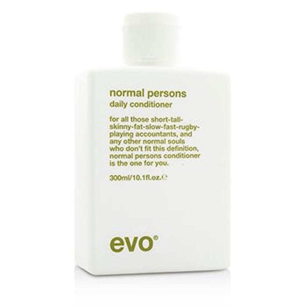 広がり完璧な分類[Evo] Normal Persons Daily Conditioner (For All Hair Types Especially Normal to Oily Hair) 300ml/10.1oz