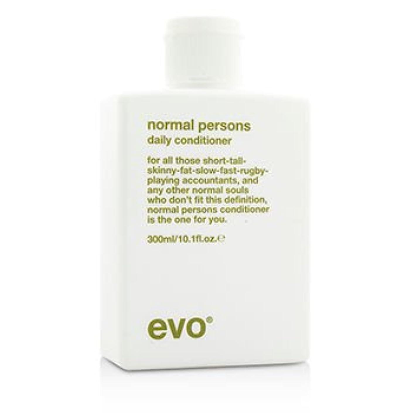 パズル毎回メールを書く[Evo] Normal Persons Daily Conditioner (For All Hair Types Especially Normal to Oily Hair) 300ml/10.1oz