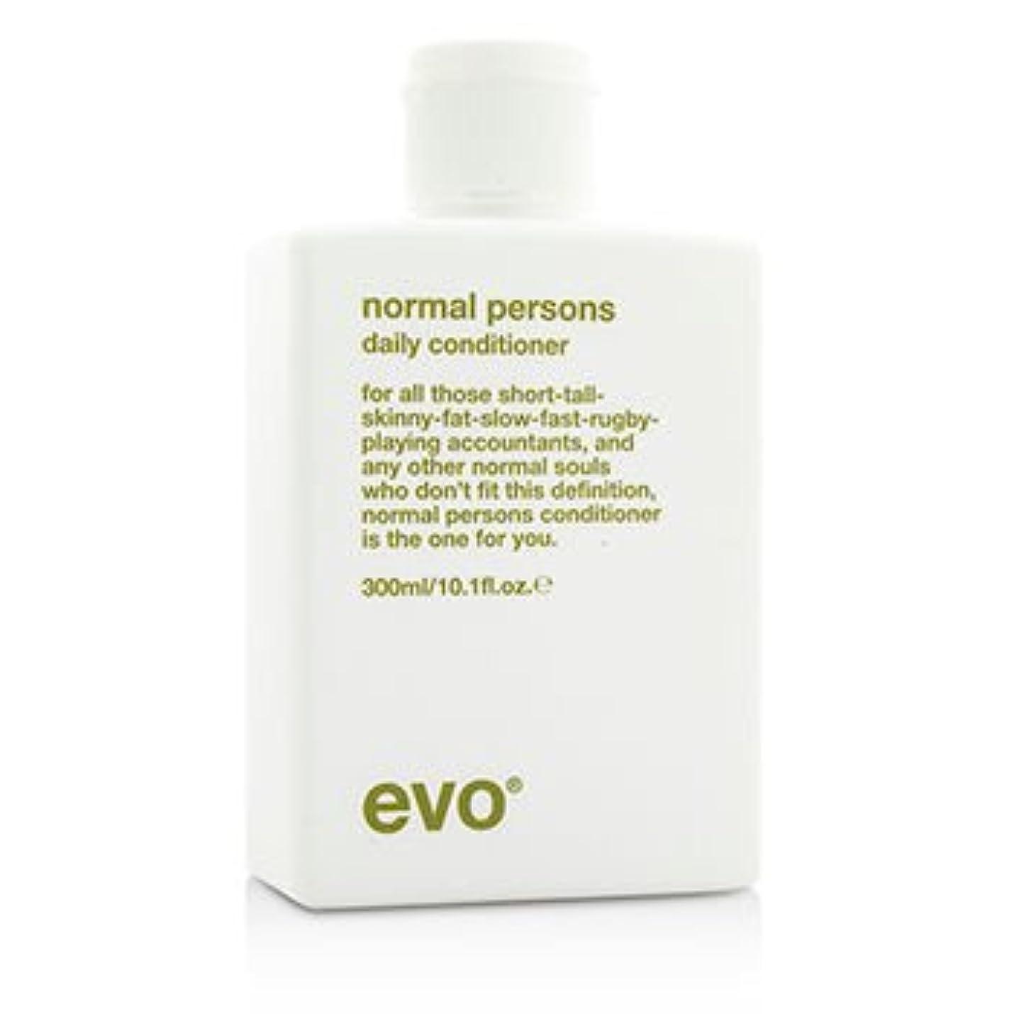 アーティキュレーション間違いなくスクランブル[Evo] Normal Persons Daily Conditioner (For All Hair Types Especially Normal to Oily Hair) 300ml/10.1oz