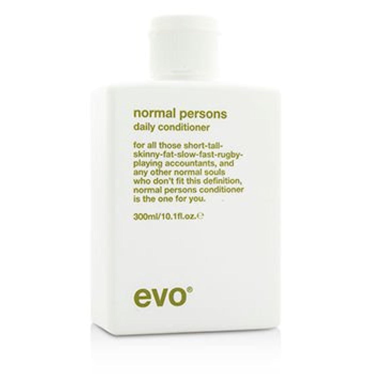 インク火曜日視聴者[Evo] Normal Persons Daily Conditioner (For All Hair Types Especially Normal to Oily Hair) 300ml/10.1oz