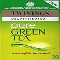 Twinings Decaff Green Tea 20 Bag (order 4 for trade outer) / トワイニンググリーンティーDecaff 20袋(商品アウターため4 )