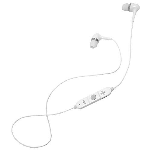 平野商会 Bluetooth 4.1 ワイアレス イヤホンマイク   両耳 ステレオ    ホワイト   HRN-294
