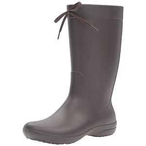 [クロックス] クロックス フリーセイル レイン ブーツ ウィメン 203541 Espresso W8(24.0cm)