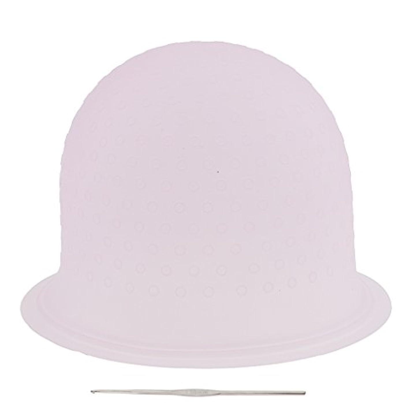 そう弾力性のある素晴らしい良い多くのSONONIA 再利用可能 省エネ サロン ハイライト 髪染め工具 染めツール メタルフック付き 2色選べ - ピンク, 23.3×8.5cm