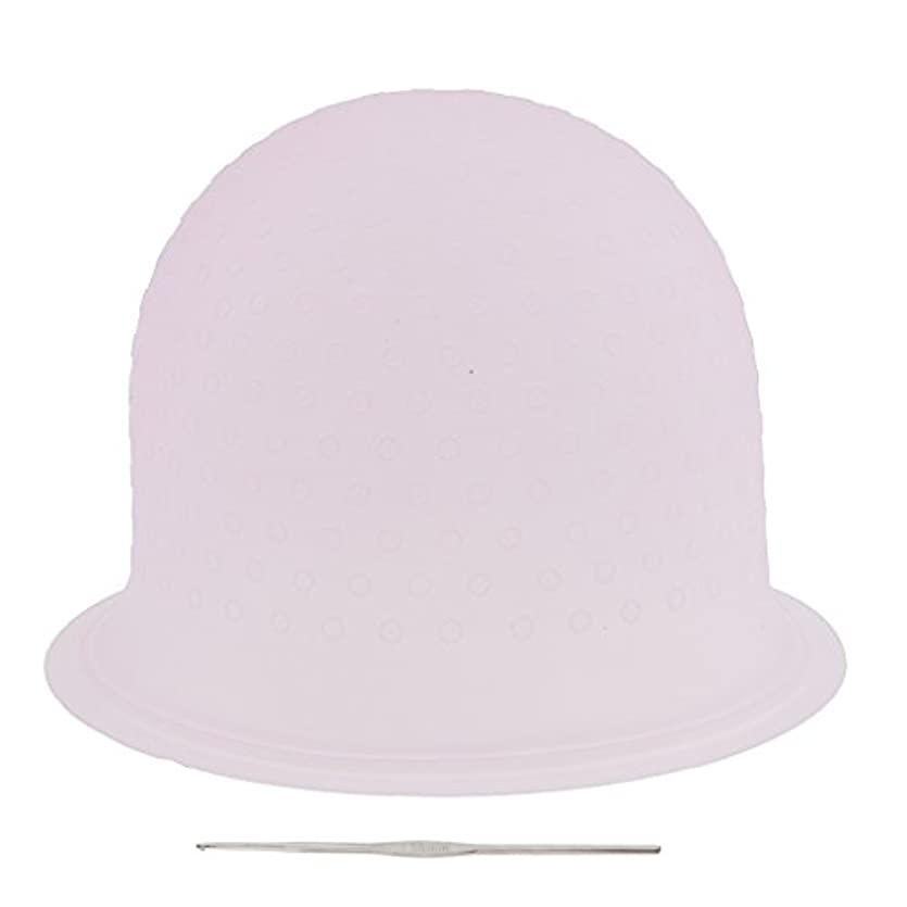 ペダル医薬品二度再利用可能 省エネ サロン ハイライト 髪染め工具 染めツール メタルフック付き 2色選べ - ピンク, 23.3×8.5cm