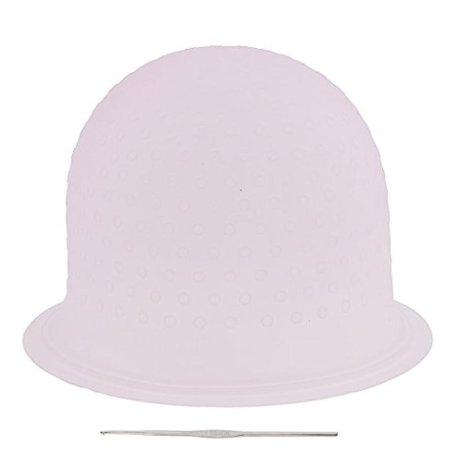従来のリラックスしたスペクトラム再利用可能 省エネ サロン ハイライト 髪染め工具 染めツール メタルフック付き 2色選べ - ピンク, 23.3×8.5cm