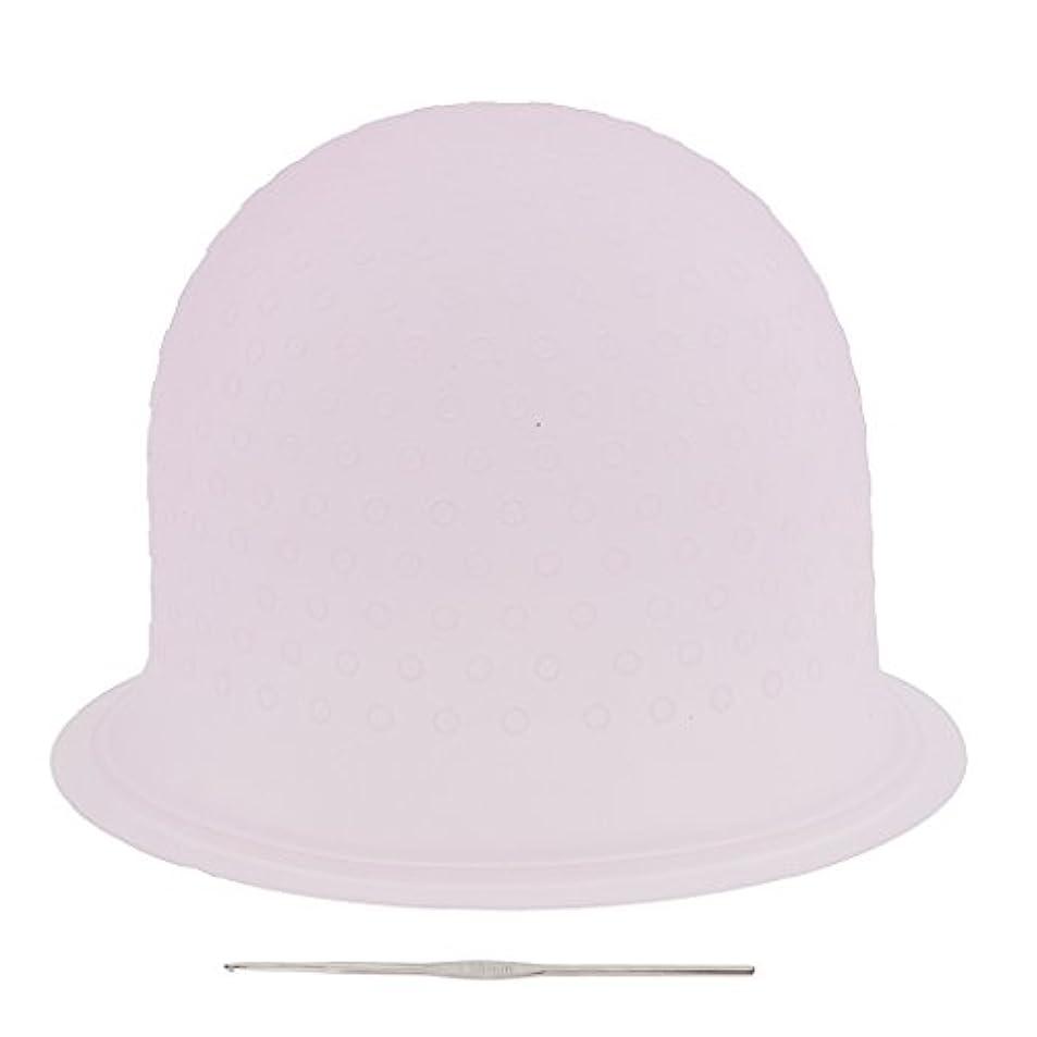 直接心のこもった抵抗するSONONIA 再利用可能 省エネ サロン ハイライト 髪染め工具 染めツール メタルフック付き 2色選べ - ピンク, 23.3×8.5cm