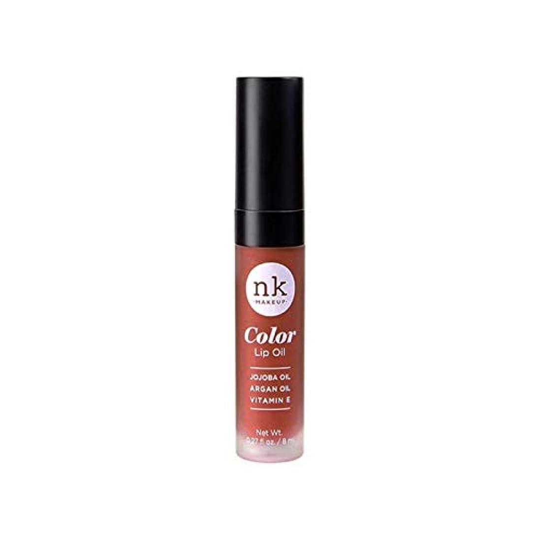 マインド地殻アヒルNICKA K Color Lip Oil - Ginger Snap (並行輸入品)