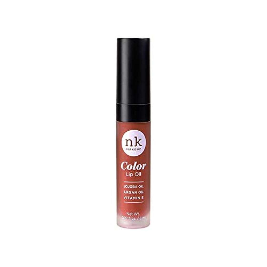 家庭例示するファイバNICKA K Color Lip Oil - Ginger Snap (並行輸入品)