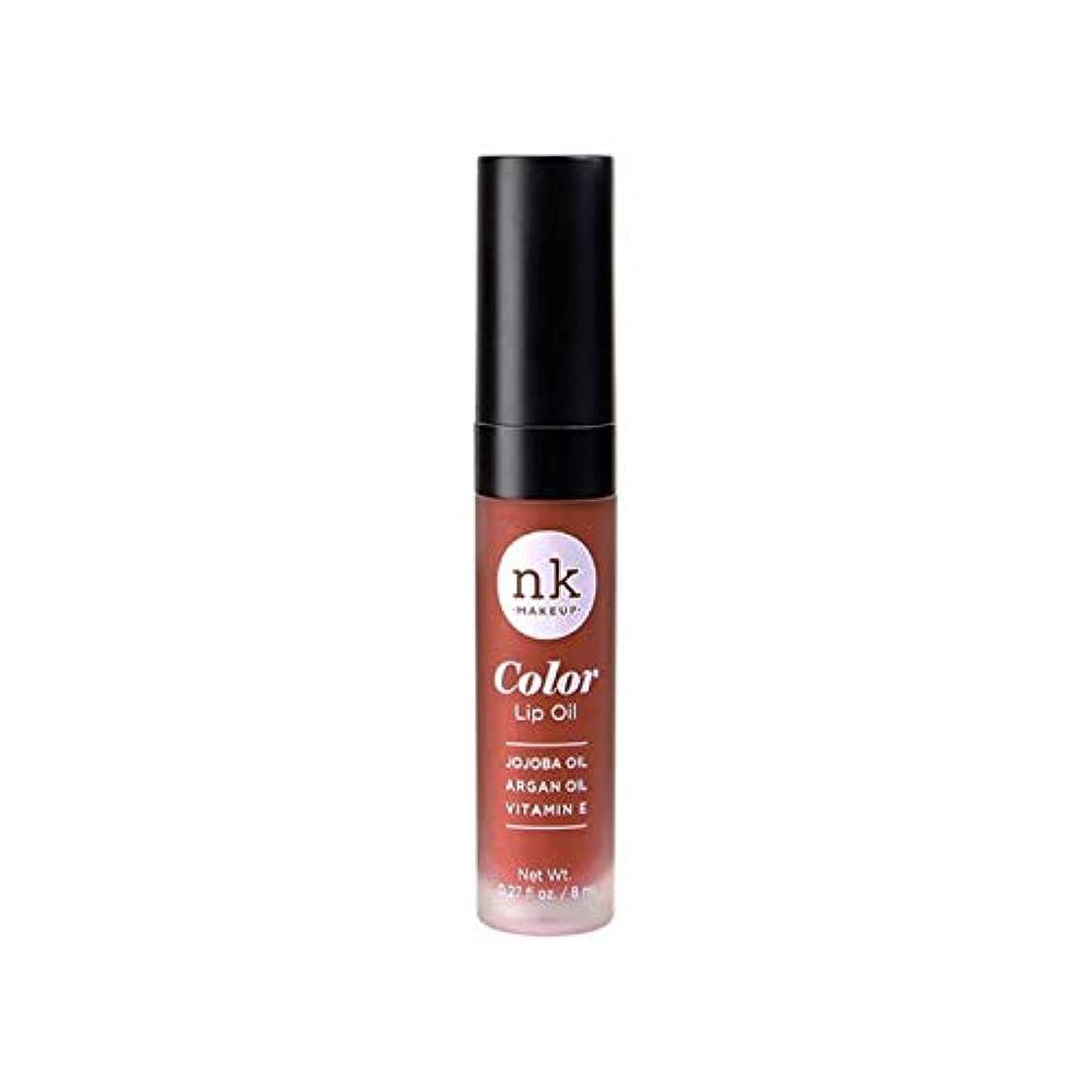 頭蓋骨振る舞いフラップNICKA K Color Lip Oil - Ginger Snap (並行輸入品)
