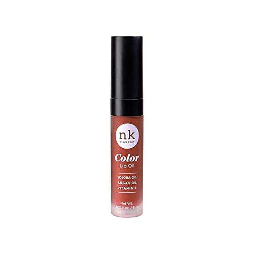 プレビスサイトしない彼女はNICKA K Color Lip Oil - Ginger Snap (並行輸入品)