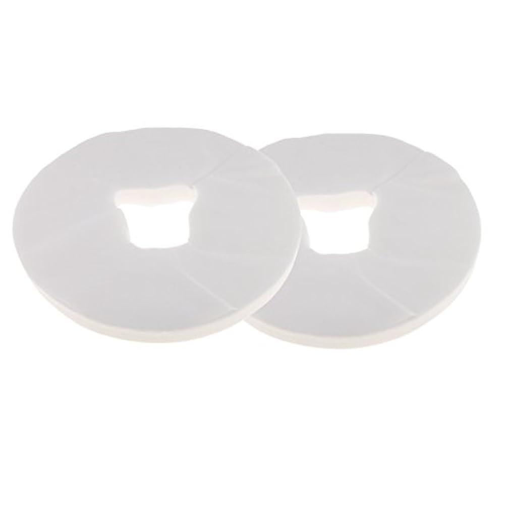 Perfk 約200枚 使い捨て フェイスクレードルカバー カバー マッサージ クッションカバー 柔らかい 衛生的