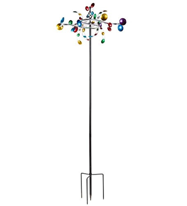 アウトドア水平カップメタルGarden Wind Spinner 28 W x 25 D x 75 h