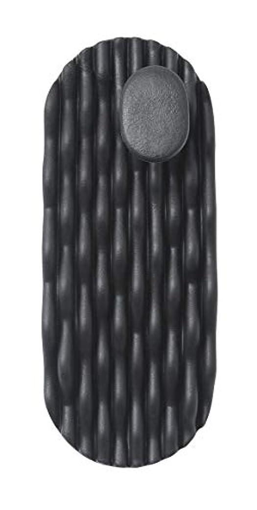 工場ウサギ十代AKAISHI ツボフィットスリッパ ブラック