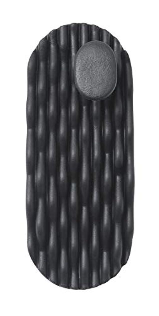 内向き確認する入口AKAISHI ツボフィットスリッパ ブラック