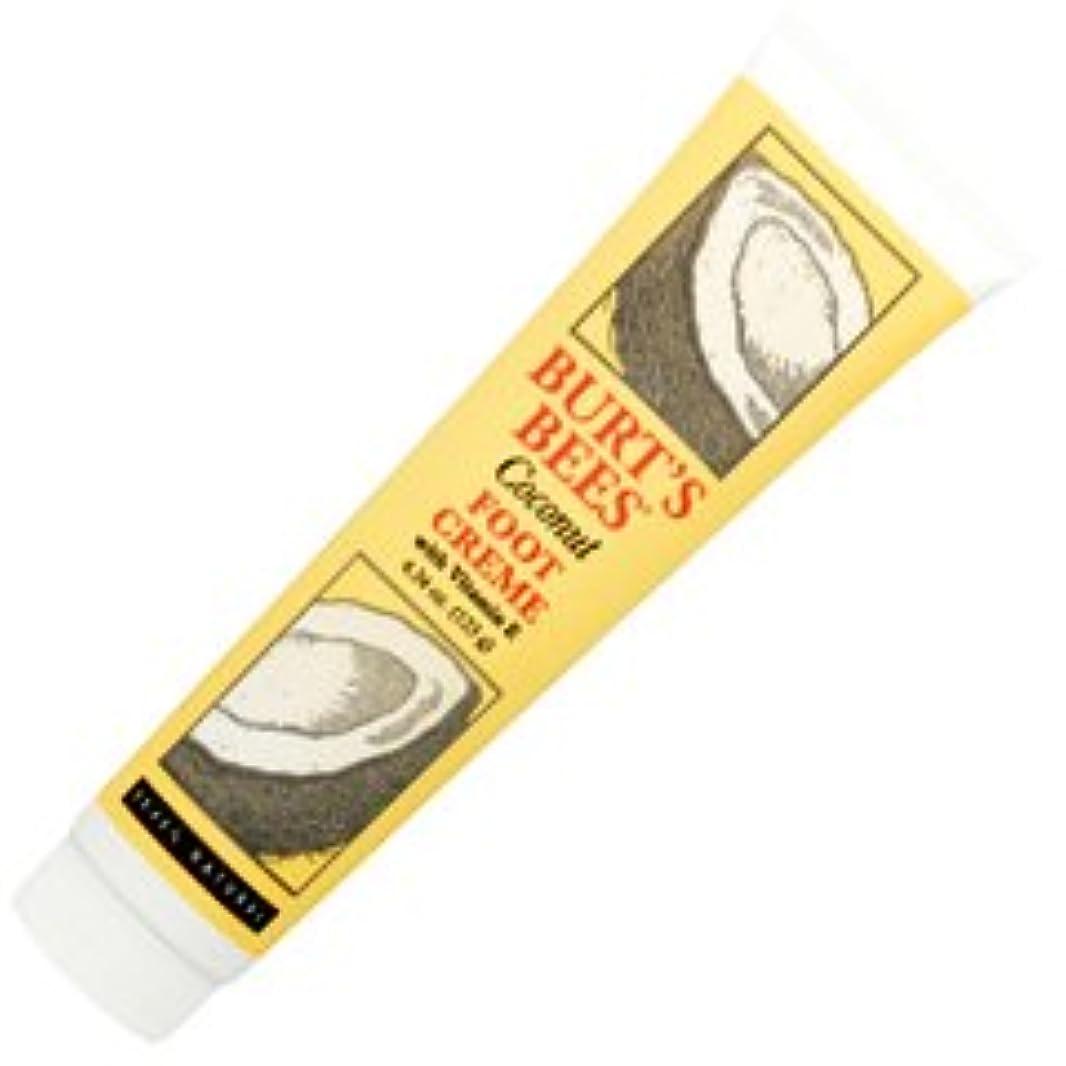 スリム雰囲気ピースバーツビーズ(Burt's Bees) ココナッツ フットクリーム 123ml [海外直送品][並行輸入品]