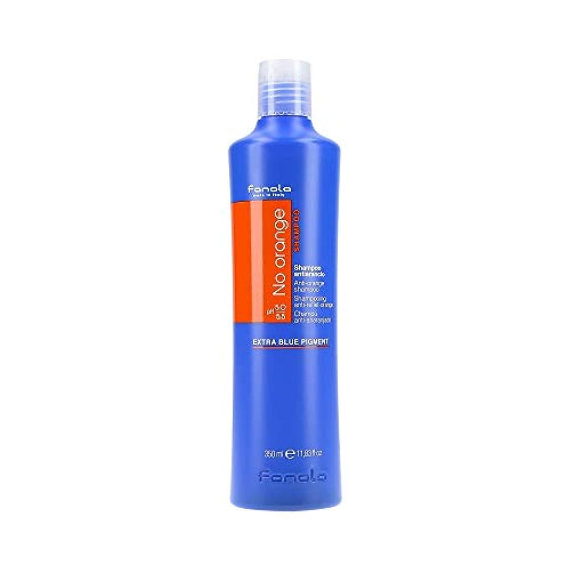 慈悲深いの気分が悪いファノラ ノー オレンジ シャンプー Fanola No orange Shampoo - Anti-orange Shampoo 350 ml [並行輸入品]