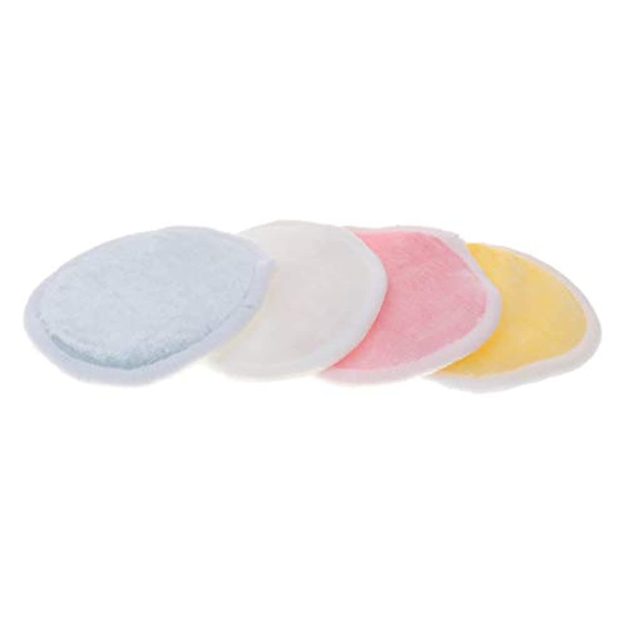 スナック泥裁定CUTICATE 全2サイズ メイク落としコットン クレンジングシート 化粧水パッド 再使用可 バッグ付 化粧用 4個入 - L