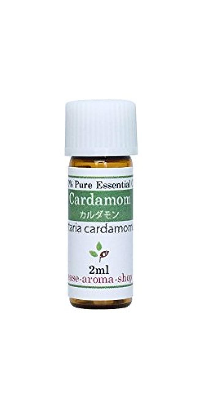 先史時代のロバシャーロットブロンテease アロマオイル エッセンシャルオイル オーガニック カルダモン 2ml  AEAJ認定精油