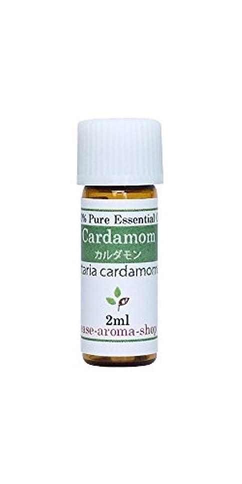 むき出し鉄真実にease アロマオイル エッセンシャルオイル オーガニック カルダモン 2ml  AEAJ認定精油