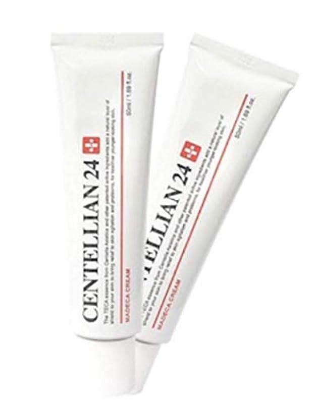 踏みつけ間隔評価するセンテルリアン24マデカクリム50ml x 2本セット肌の保湿損傷した肌のケア、Centellian24 Madeca Cream 50ml x 2ea Set Skin Moisturizing Damaged Skin...