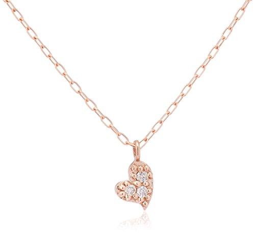 [フェスタリア ビジュソフィア] festaria bijou SOPHIA K10ピンクゴールド ダイヤモンドモンド ネックレス 70035-12048090