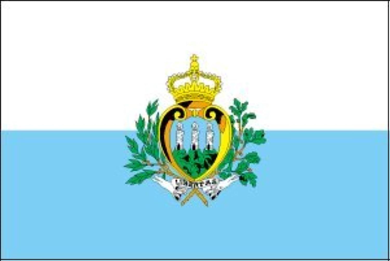 世界の国旗 サンマリノ 国旗 [120×180cm 高級テトロン製]