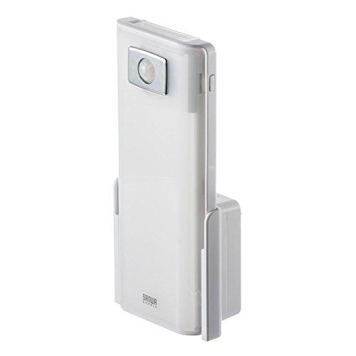 サンワダイレクト LEDライト 人感センサー コンセント 懐中電灯 停電時自動点灯 800-LED018