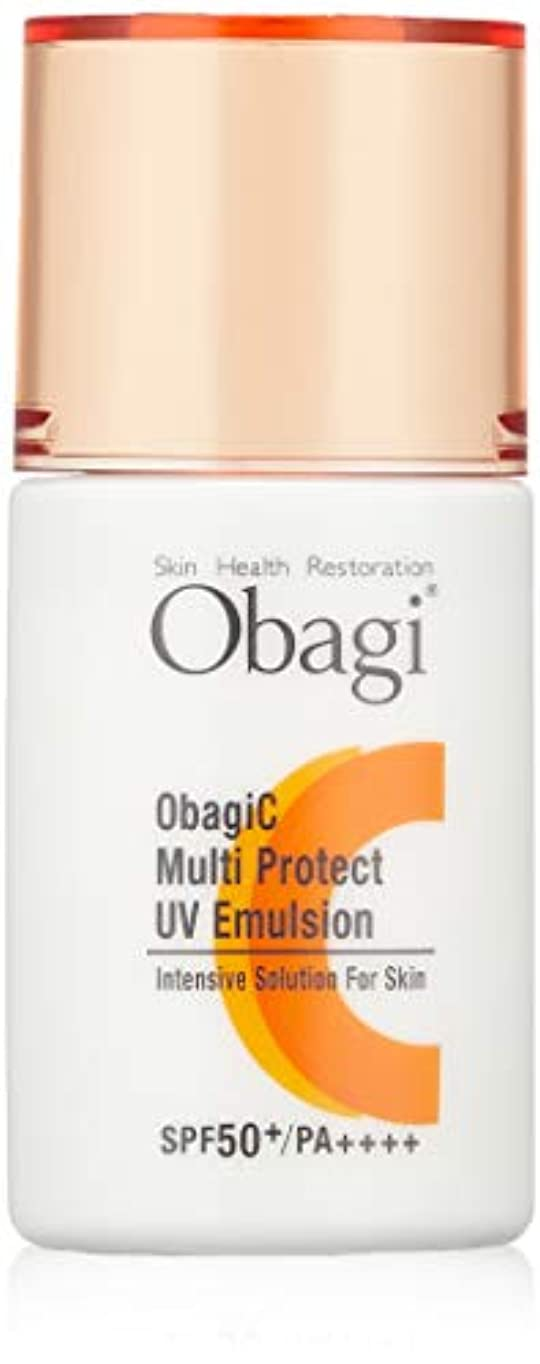 帝国主義パッケージ誇張Obagi(オバジ) オバジC マルチプロテクト UV乳液 SPF50+ PA++++ 30ml
