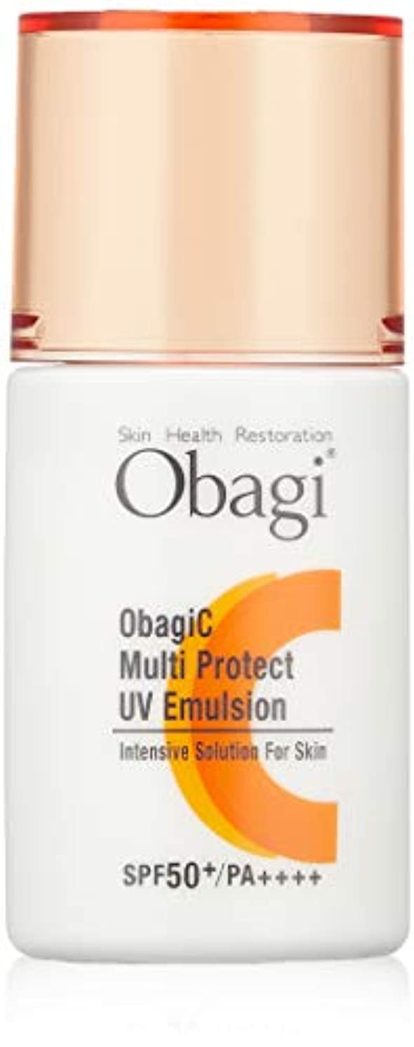 一晩大事にする汚染されたObagi(オバジ) オバジC マルチプロテクト UV乳液 SPF50+ PA++++ 30ml