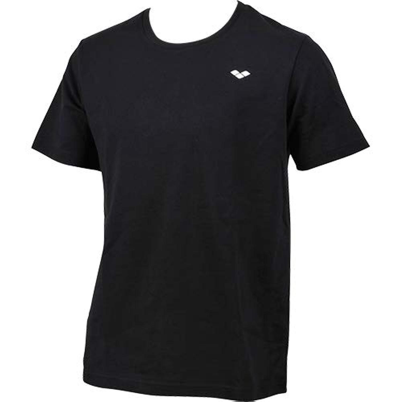 [アリーナ] メンズ レディース Tシャツ ブラック AMUMJA54 BLK L