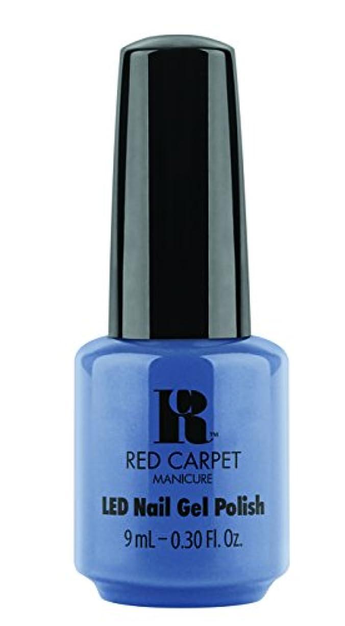 表現溢れんばかりの怒るRed Carpet Manicure - LED Nail Gel Polish - Love Those Baby Blues - 0.3oz/9ml