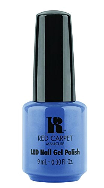 光沢流産言い訳Red Carpet Manicure - LED Nail Gel Polish - Love Those Baby Blues - 0.3oz/9ml