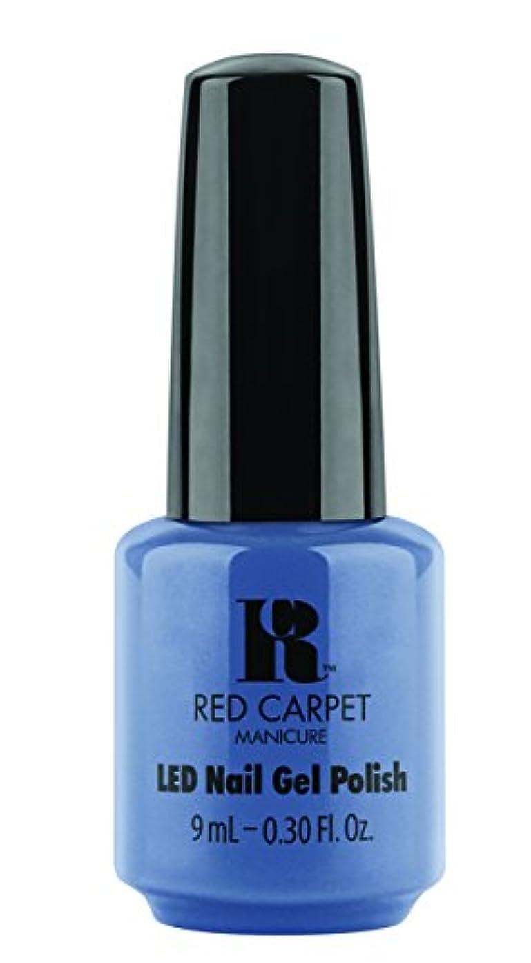 なぞらえる犯すキャビンRed Carpet Manicure - LED Nail Gel Polish - Love Those Baby Blues - 0.3oz/9ml
