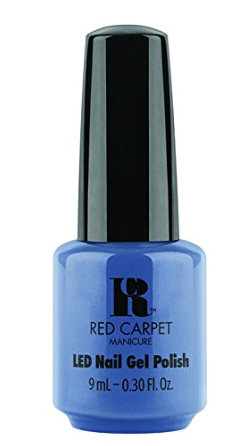 期待して兵器庫モルヒネRed Carpet Manicure - LED Nail Gel Polish - Love Those Baby Blues - 0.3oz/9ml