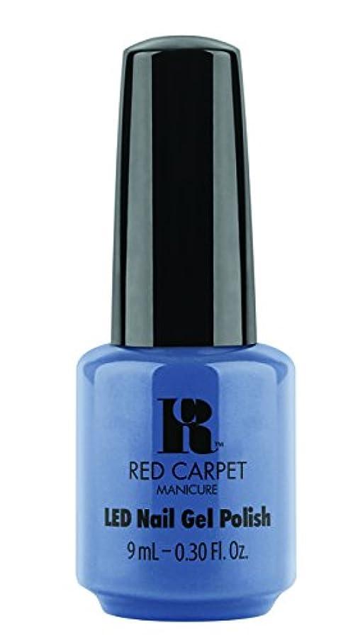 スリル租界重要性Red Carpet Manicure - LED Nail Gel Polish - Love Those Baby Blues - 0.3oz/9ml