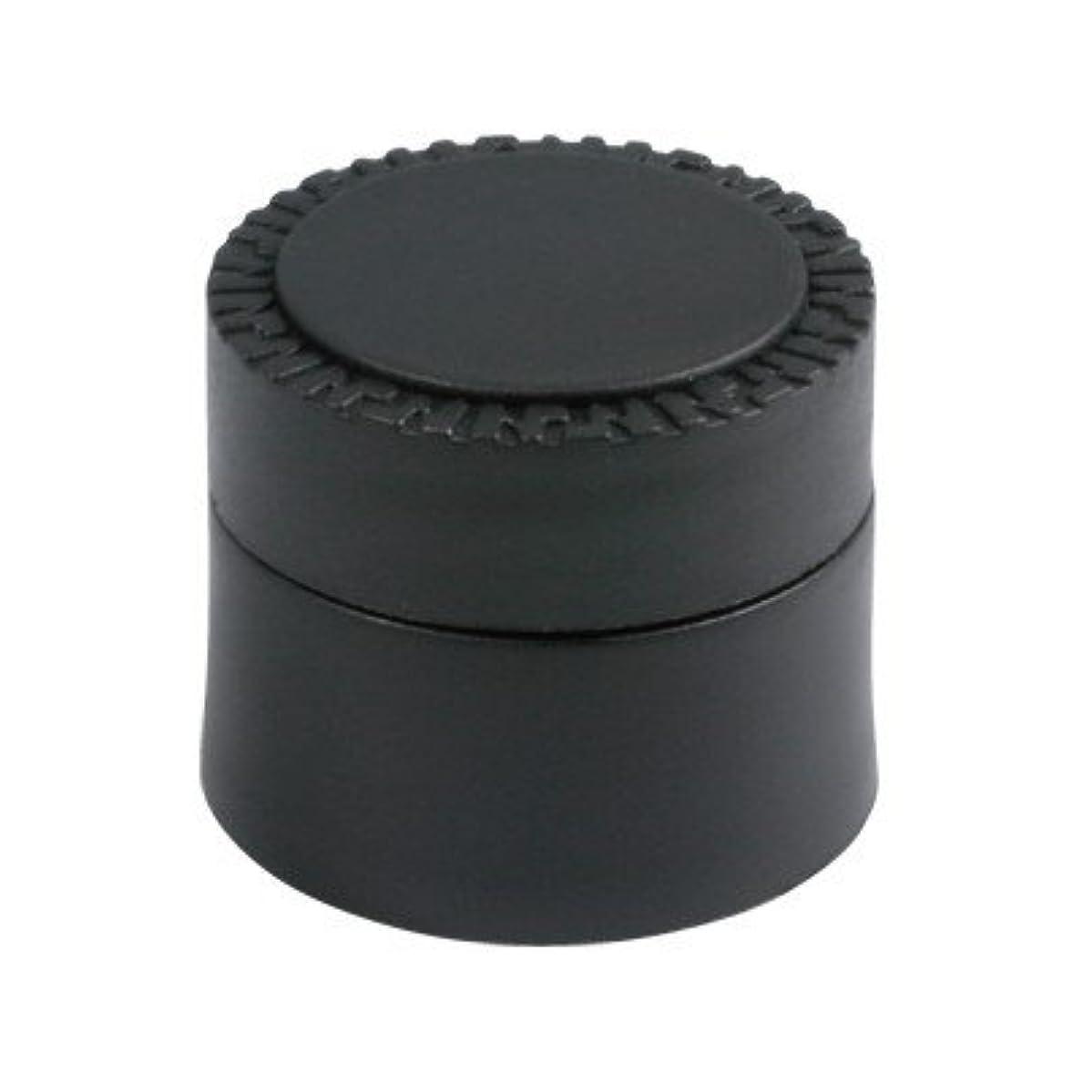 布権限気配りのあるメルティージェル NFS MELTY GEL 空容器 黒 (容量5g)