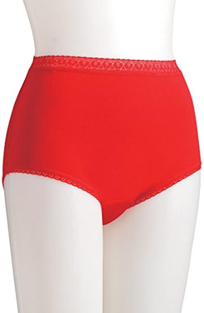 リアルサンダルの配列失禁パンツ 赤 3枚組 L