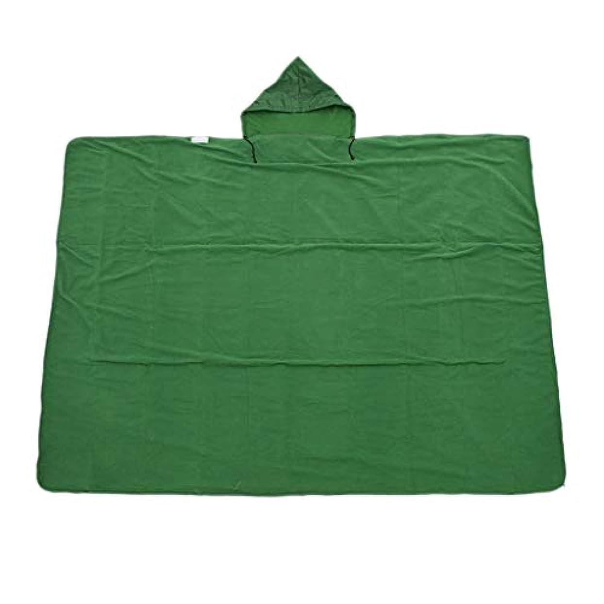 地下室主婦北東Perfk アウトドア 旅行 キャンプ スリーピングバッグライナー 寝袋ブランケット マット レインケープ 収納バッグ付き 全5色