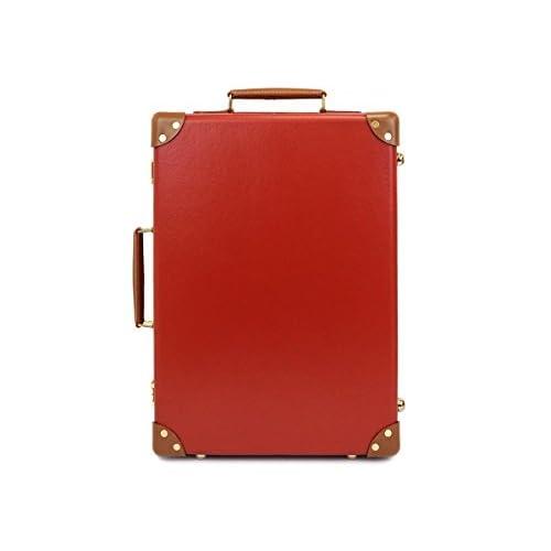 GLOBE TROTTER グローブトロッター Red/Tan センテナリー 18インチ [並行輸入品]
