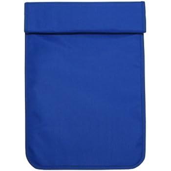 携帯電話圏外袋ブルー サイズM