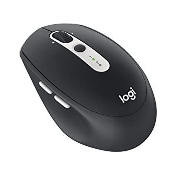 Logitech Wireless Mouse M585 Multi-Device with FLOW Cross-Computer Control and File Sharing for PC and Mac Graphite (910-005012) [並行輸入品]