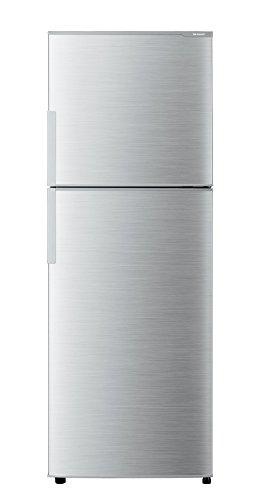 シャープ 冷蔵庫 2ドア 225L シルバー SJ-D23B-S