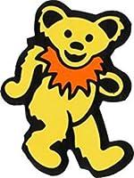 Dancing Bear - Yellow with Orange Necklace - Bumper Sticker/Decal [並行輸入品]