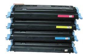 インクパイプラインバンドルパック(すべての色)Canon用プレミアム互換レーザートナーカートリッジImageClass c2500、lbp-2510、lbp-5500プリンタ。カートリッジep-85bk / c9720a , ep-85C / c9721a , ep-85m / c9723a、ep-85y / c9722a