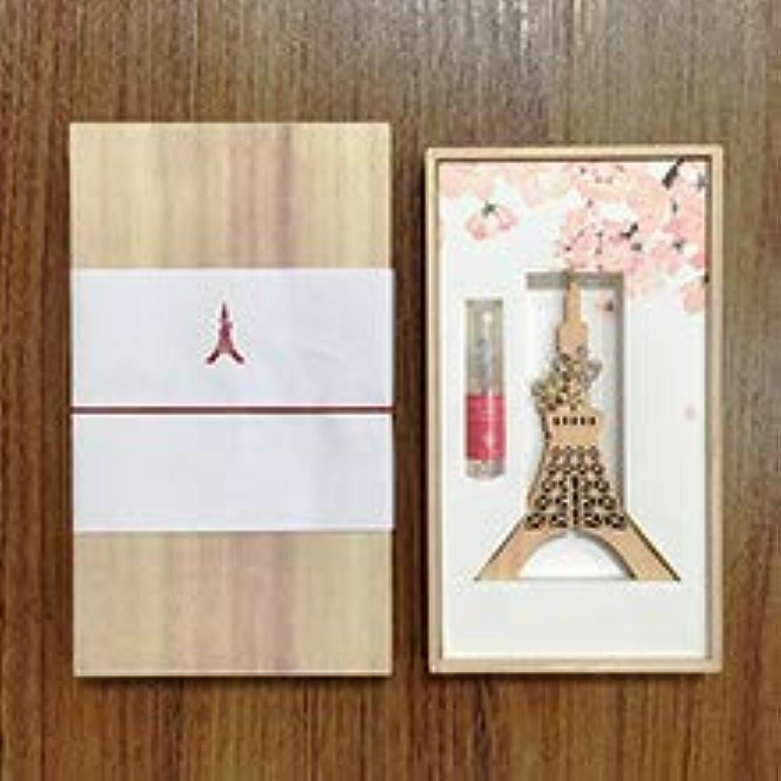 パラシュートおっとウルル東京タワー3Dウッドディフューザー(昼)