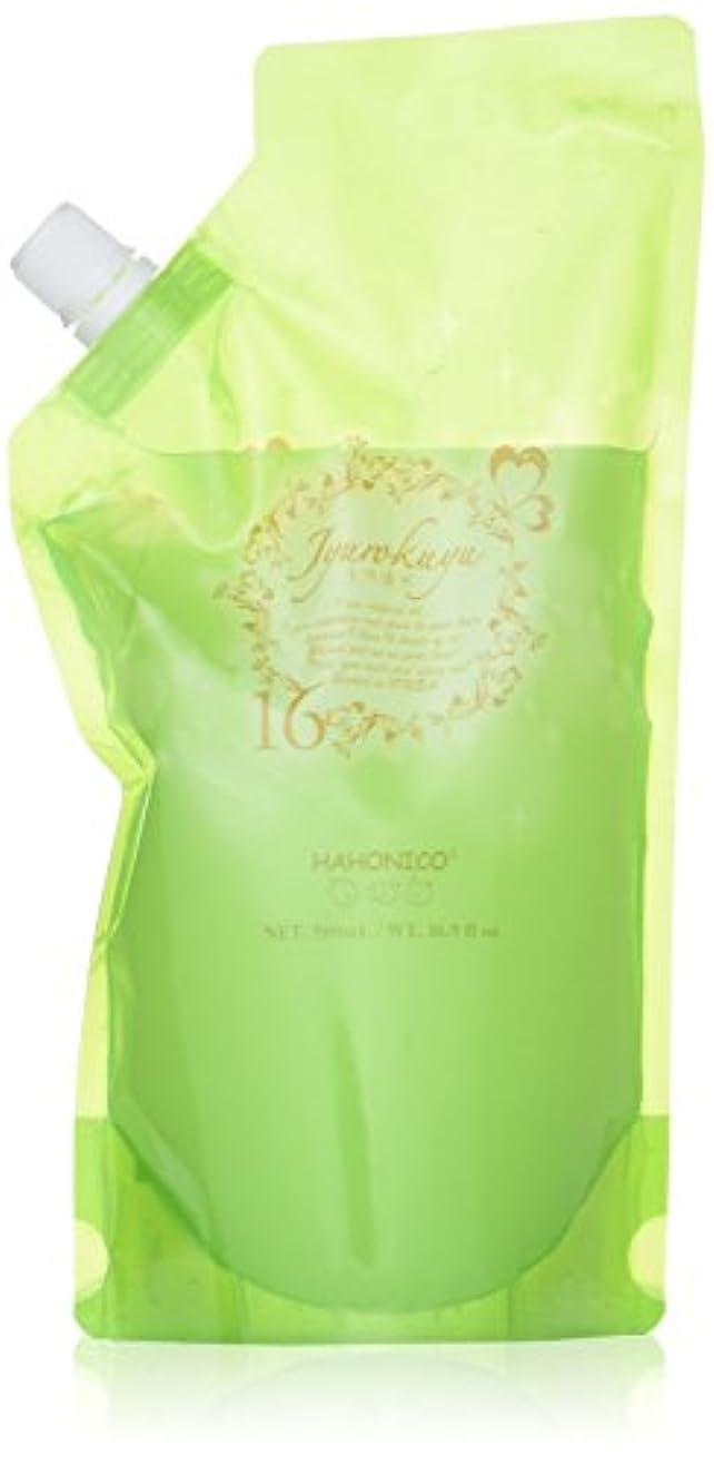 アプライアンス美容師持つハホニコ ジュウロクユスイ 500ml詰替え 十六油水 HAHONICO