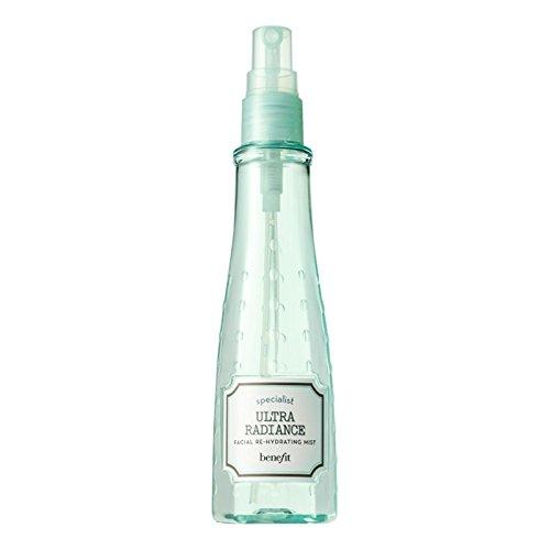 超輝き顔の再水和霧に利益をもたらす、133ミリリットル (Benefit) - Benefit Ultra Radiance Facial Re-Hydrating Mist, 133ml [並行輸入品]